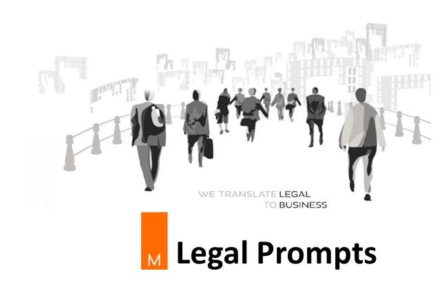 Legal Prompts November December 2017